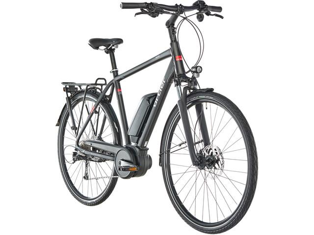 Ortler Bozen E-trekkingcykel sort | City-cykler